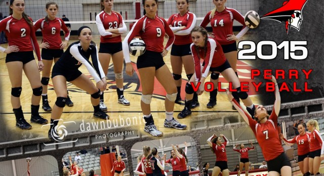 Perry Volleyball Crushes Orange