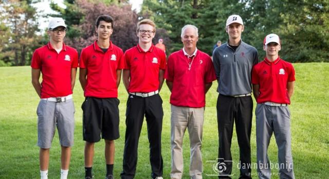 Varsity Golf Defeats Berkshire