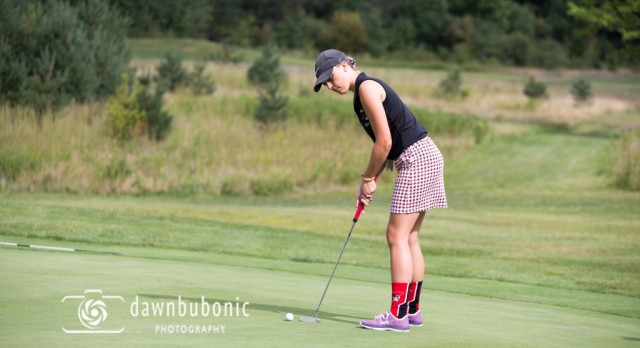 Girls Golf Competes Against Chardon and Madison