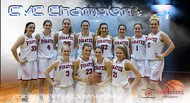 Girls Basketball Clinches CVC Championship