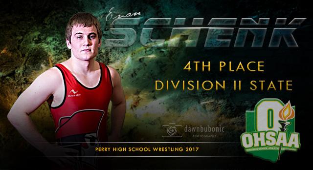 Congratulations Evan Schenk 4th at State!
