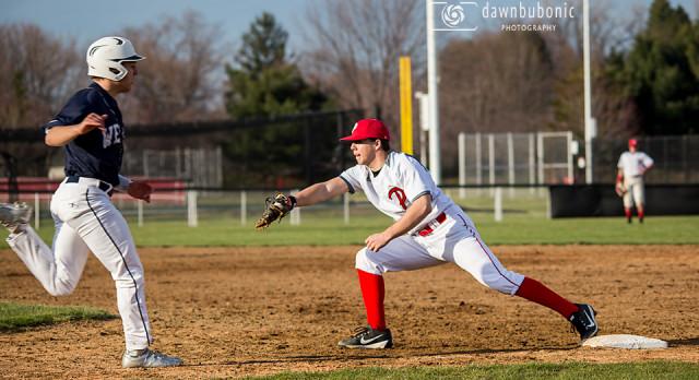 Perry High School Varsity Baseball beat West Geauga Local Schools 5-1