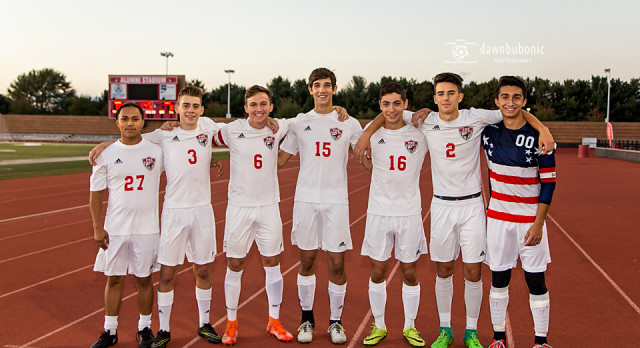 Boys Soccer Senior Night