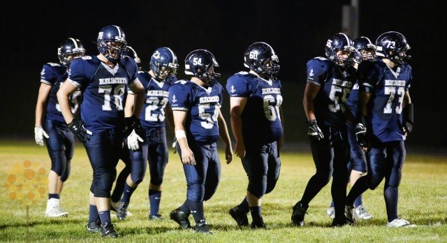 Bluejackets Lose Homecoming