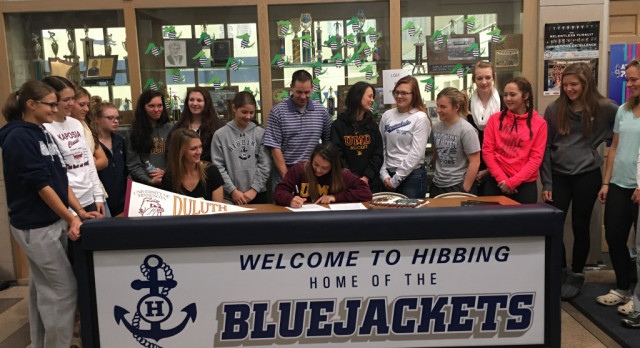Iozzo Signs NLI with UMD
