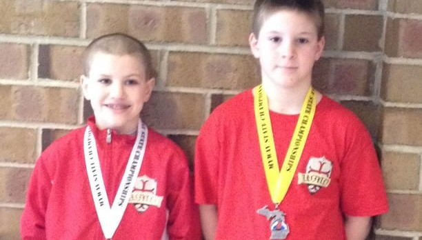 Two Youth Wrestlers Place at State