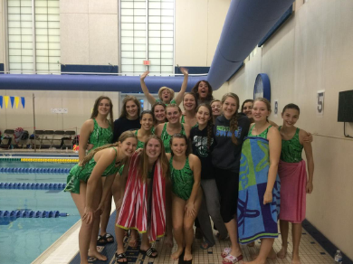 Lady Swimmers Wrap up Season at Conference Meet