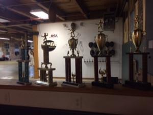 High School Fencing Trophies