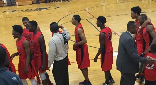 Southern Durham High School Boys Varsity Basketball beat Asheboro High School 71-51