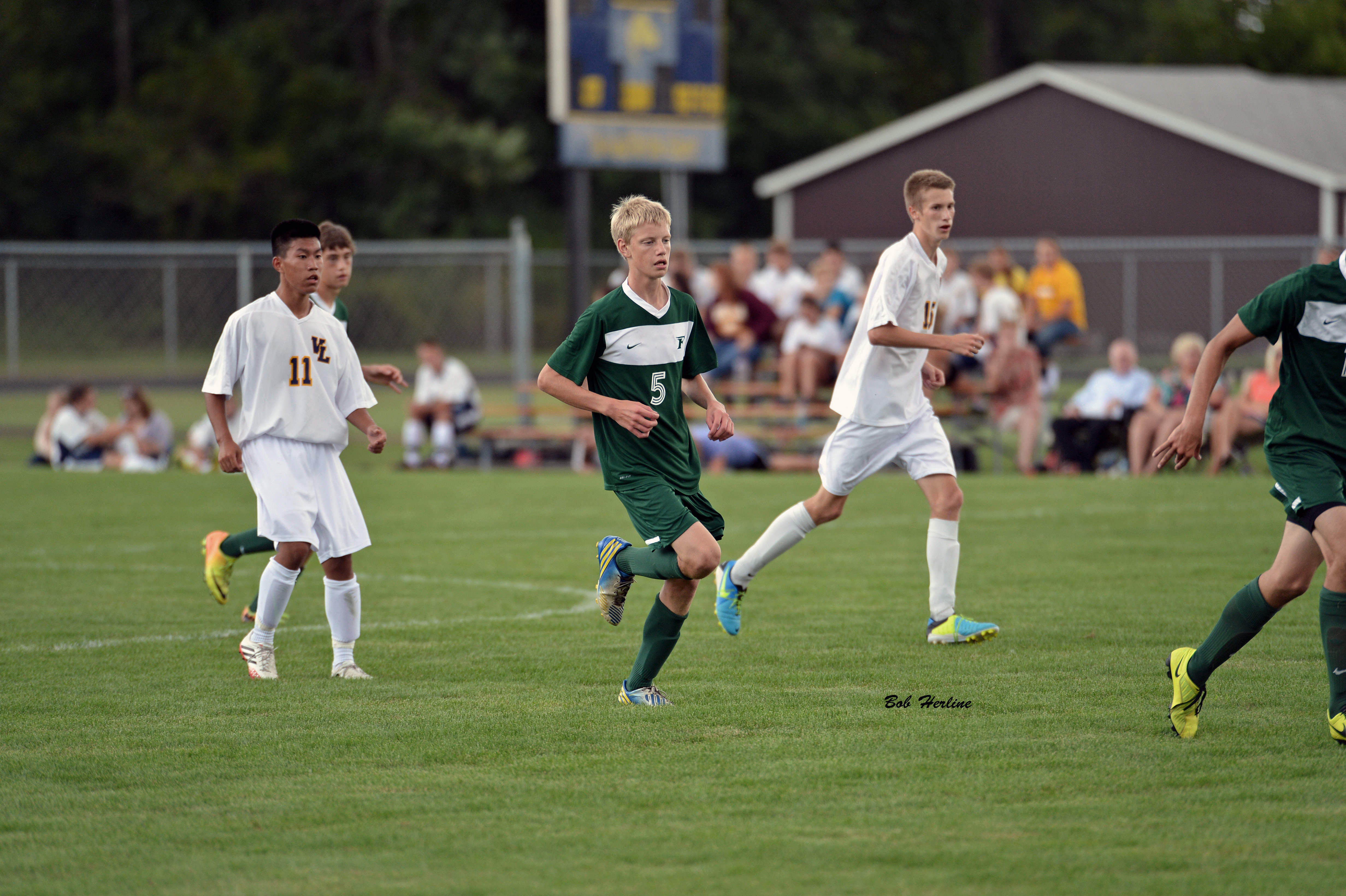 Soccer Defeats Ovid Elsie