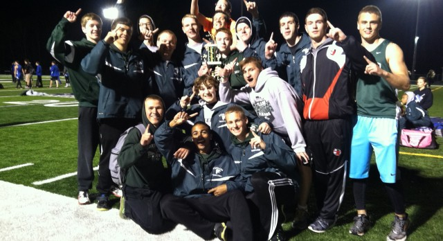 Varsity Boys' Track Takes 1st at Clare Invitational