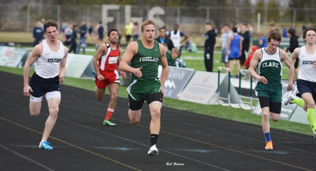 Freeland Track Invitational a Success