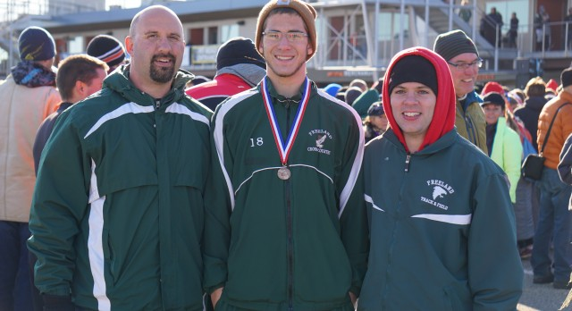 Alex Stowell Earns All-State Honors at State Cross Country Meet