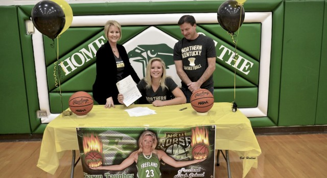 Taryn Taugher Signs To Play At Northern Kentucky