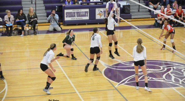 Volleyball Advances to District Final