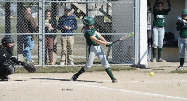 Freeland High School Varsity Softball beat Caro Community Schools 3-2