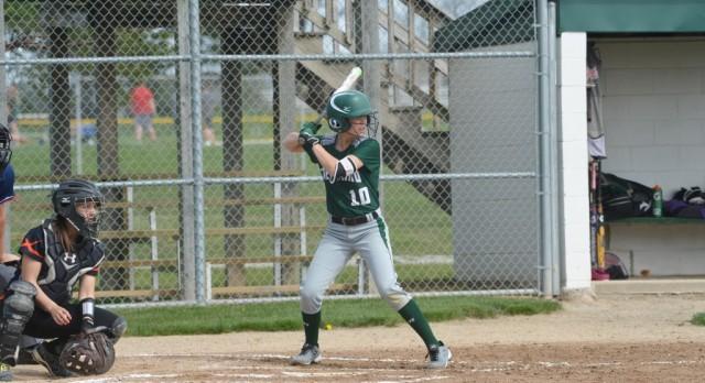 Freeland High School Varsity Softball beat St. Charles High School 7-0
