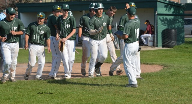 Varsity Baseball Scores 32 Runs in Sweep