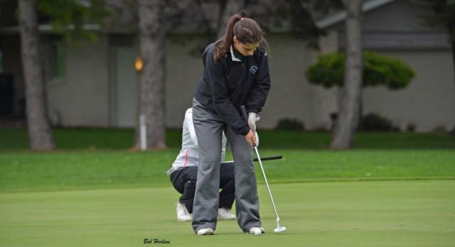 Freeland High School Girls Varsity Golf beat Nouvel Catholic Central High School 193-243