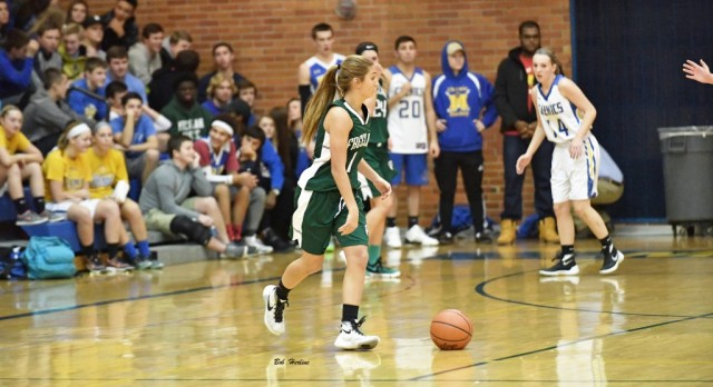 Freeland High School Girls Varsity Basketball beat Midland High School 44-33