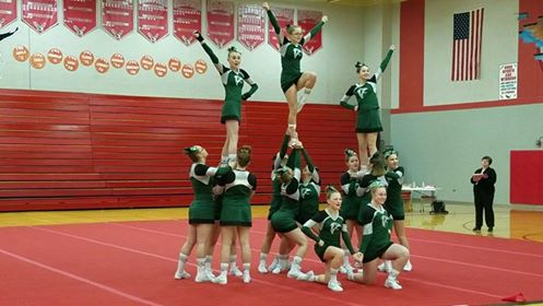 Cheer Starts Conference Competition With A Win
