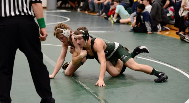 Varsity Wrestling Wins Two, Eric Tyson Wins Number 100