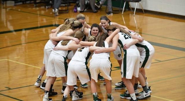 Freeland High School Girls Varsity Basketball beat Carrollton High School 73-28