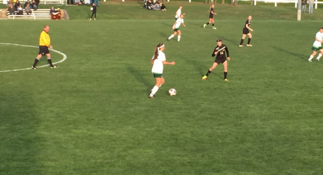 Soccer Cruises to Conference Win