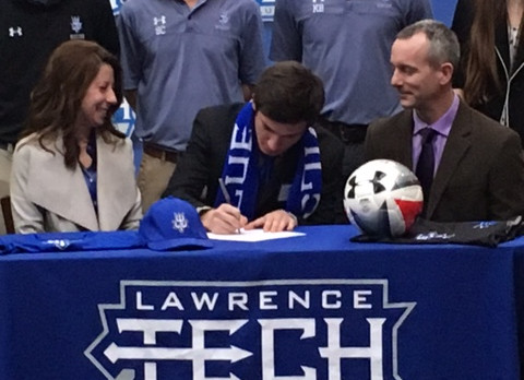 Pilon Signs With Lawrence Tech University