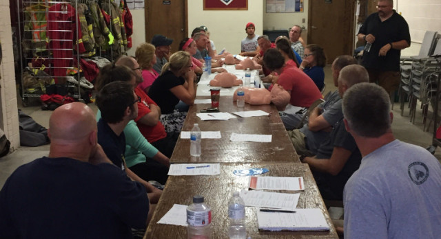 Freeland Coaches Attend CPR Certification Classes