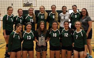 Varsity Volleyball Wins Early Bird Tournament