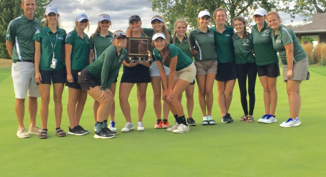 Girls Golf Win TVC Championship