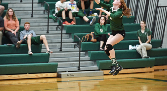 Varsity Volleyball Remains Undefeated in the TVC