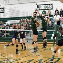 9-13-17 – VARSITY VOLLEYBALL – FREELAND FALCONS VS. SHEPHERD BLUEJAYS
