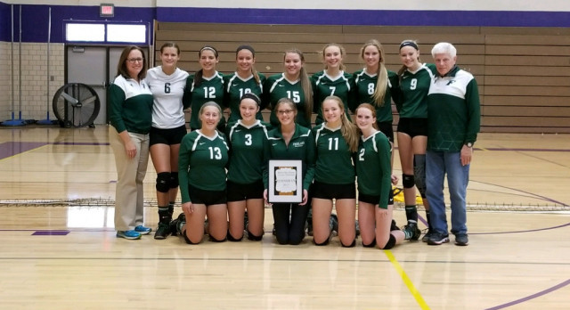 Varsity Volleyball Goes 6-1 In Tourney