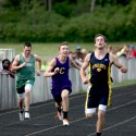 Men's track at Springport and at Albion