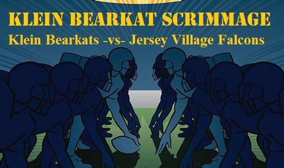 Klein Bearkats -VS- Jersey Village Falcons (Scrimmage) Aug 25, 2017