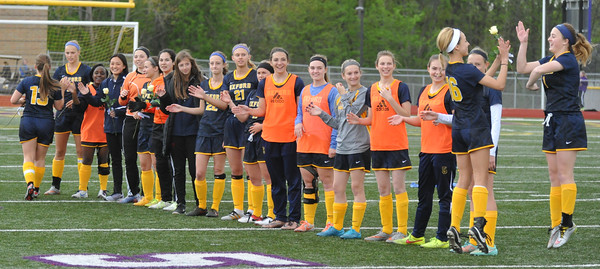 Oxford High School Girls Varsity Soccer beat Groves High School 3-0