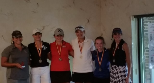 Oxford High School Girls Varsity Golf finishes 15th place