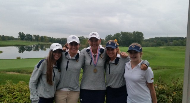 Oxford High School Girls Varsity Golf finishes 4th place