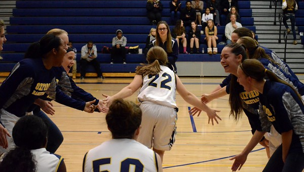 Oxford High School Girls Varsity Basketball falls to Clarkston High School 48-32