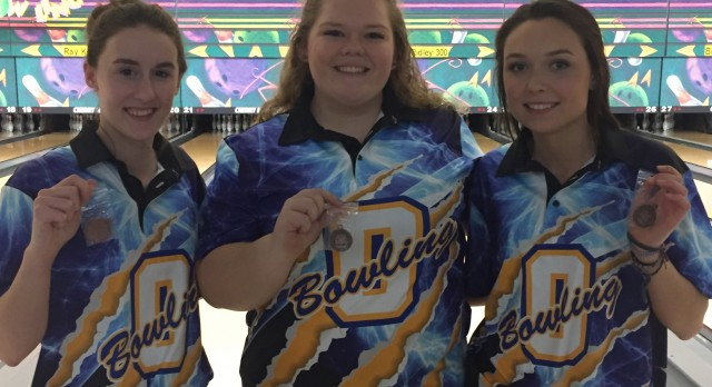 Oxford High School Girls Varsity Bowling finishes 2nd place
