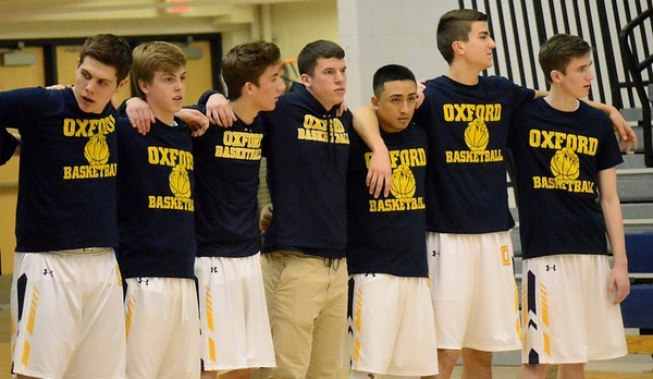 Oxford High School Boys Varsity Basketball beat Stoney Creek High School 43-40