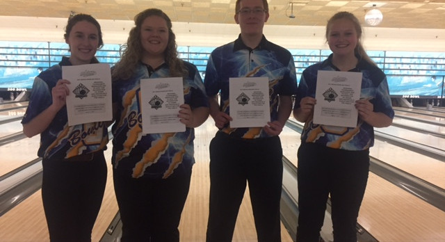 Oxford High School Boys Varsity Bowling finishes 2nd place