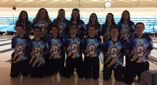 Oxford High School Girls Varsity Bowling finishes 3rd place