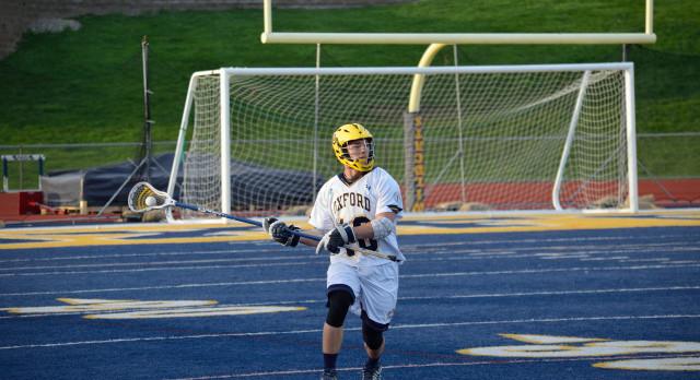 Oxford High School Boys Varsity Lacrosse beat Stoney Creek High School 12-1