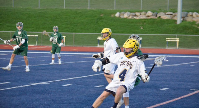 Oxford High School Boys Varsity Lacrosse beat North Farmington High School 10-5