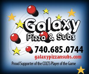 Galaxy Pizza Half Court Shot
