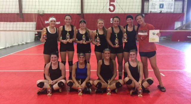 Volleyball Team Camp Champs