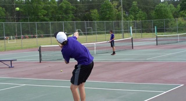 Boys' Tennis Team Claims 5th Straight Region Title; Adam Black Wins POY